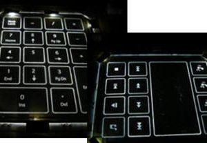 Keypad Light Guides 2